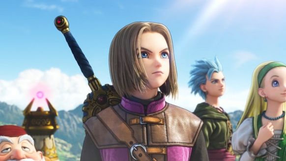 Dragon Quest XI was born as a PS4 exclusive game 3DS Dragon Quest XI Nintendo Switch PS4