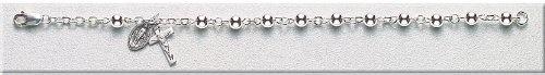 "Sterling Silver Rosary Bracelet Bracelets Catholic 5mm Bead 6.5"" Standard Length by HMH Regina, http://www.amazon.com/dp/B0039UI37U/ref=cm_sw_r_pi_dp_8N6Tqb1YKKQSP"