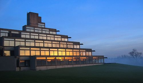 University of East Anglia, Norwich, Where the Sainsbury Centre for the Visual Arts, SCVA, is situated
