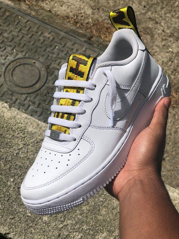 check out c70a7 f2e61 Off White Air Force 1 Customs   Etsy