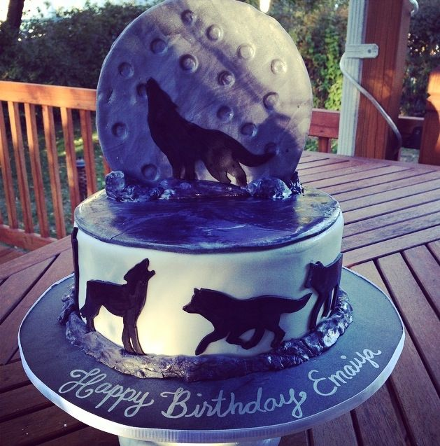 Teen Wolf Cake #cakerecipe #sweetstuff