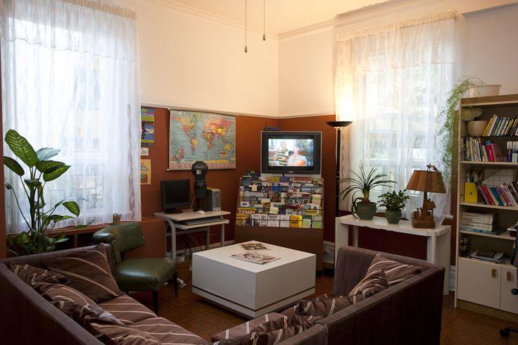 Le salon, l'endroit idéal pour partager ses expériences et ses découvertes.
