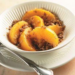 Peach Crisp: Diabetes Forecast®