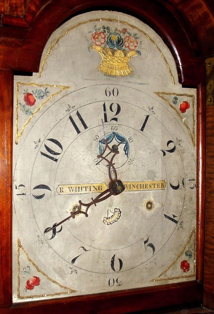 Riley Whiting Winchester Conn Tall Case Clock C1820 Misc