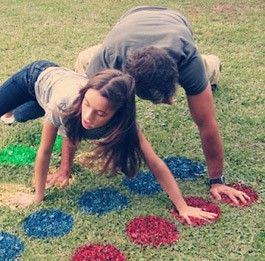 I have to confess to a crazy love for lawn games. Seriously, who doesn't love a good bocce ball match during a barbecue? With the summer months quickly approaching, I am loving these ideas for great lawn games for families.