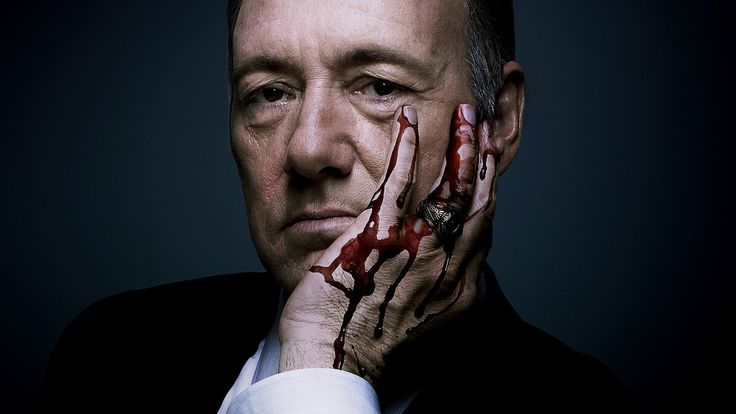 "••House of Cards S4 13E starts! 2016-03-04 ; )•• (S1 13E 2013-02-01) • blood hands (1920×1080) • produced by Netflix! • America's most charismatic actor Kevin Spacey (as Francis Underwood) is ingenious (as usual ; ) as is his wife Claire (Robin Wright ; ) • 6 dir., main James Foley • 10 writers, main Kate Barnow • poignantly shows how Washington works! All games & lies...as People do not matter, only getting ahead • ""There are 2 kinds of pain. The sort of pain that make"