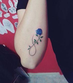 Símbolo Infinito y Flor Rosa - Tatuajes para Mujeres. Encuentra esta muchas ideas mas de Tattoos. Miles de imágenes y fotos día a día. Seguinos en Facebook.com/TatuajesParaMujeres!