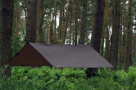 DD Tarp 3m x 3m - Coyote Brown - Versatile, Lightweight Army Basha / Tarp: Amazon.co.uk: Sports & Outdoors
