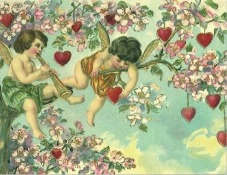 Happy Valentine S Day Valentines Vintage And More Pinterest