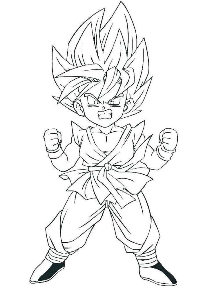 Goku Gt Coloring Pages Dragon Ball Art Dragon Ball Goku Dragon Ball