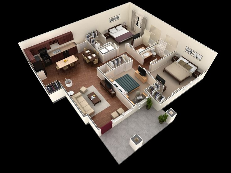 25 Best Springs At Corpus Christi Apartments Images On Pinterest Spacious Living Room Bedroom