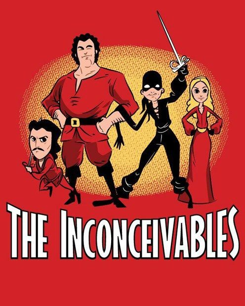 The Inconceivables o I have to put this on a shirt!