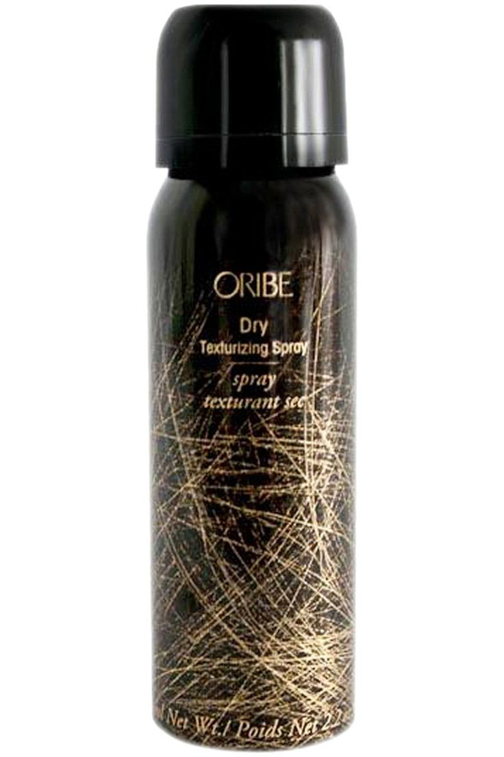 """Oribe Dry Texturizing Spray, $42, oribe.com.  """"It smells amazing and gives that perfectly tousled bed head texture like no other product on the market.""""  —Gregory Russell (Christina Hendricks, January Jones, Chloe Moretz) [Editor's Note: This product got multiple votes from numerous hairdressers.]"""