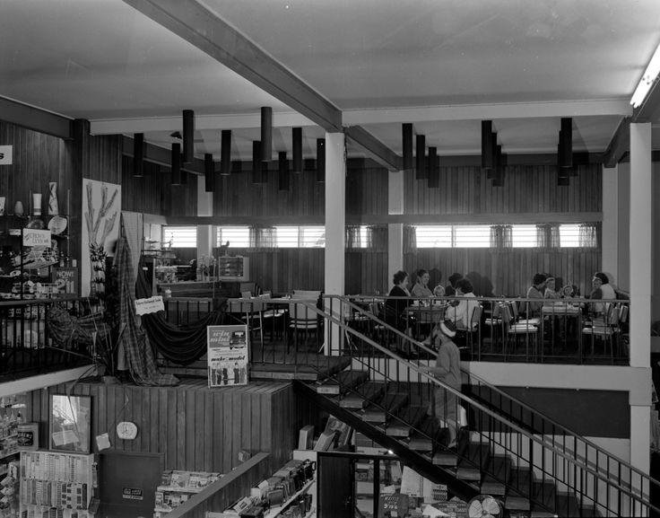 Hazelwoods interior; Gold Room cafe. Upper Hutt. Childhood turf