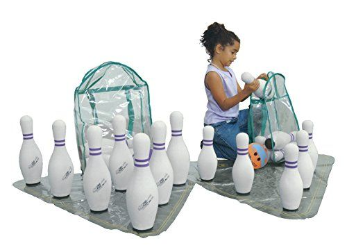 Miniature Indoor Bowling Games - Sportime UltraFoam Junior Bowling Set *** Find out more about the great product at the image link.