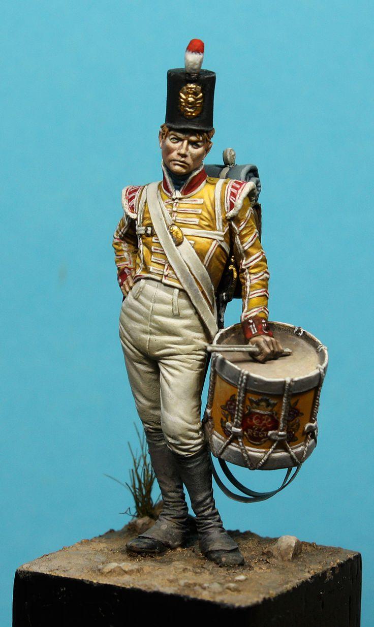 Drummer Boy , Latorre Models - 54 mm