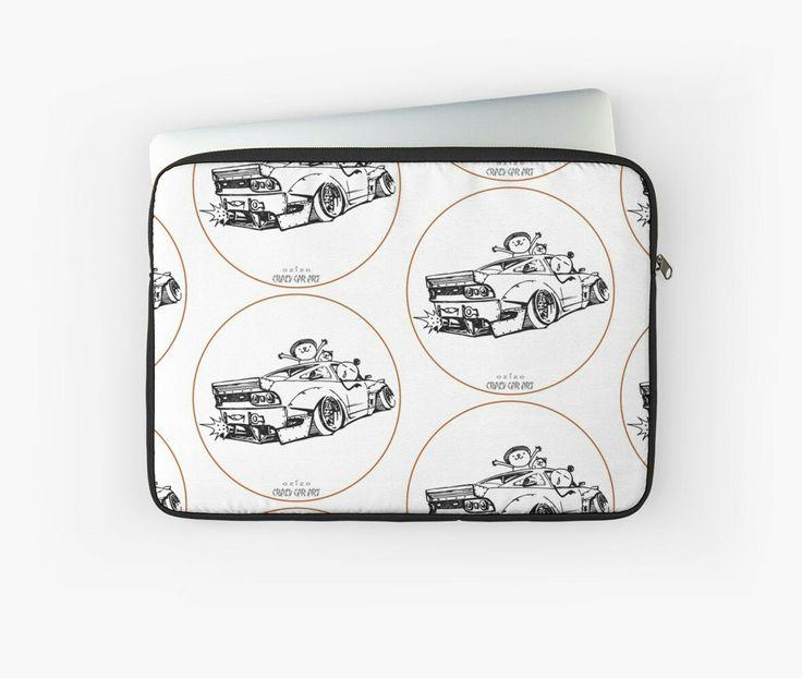 Crazy Car Art 0007 / laptop sleeve