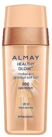 Almay Healthy Glow Makeup + Gradual Self Tan - Medium