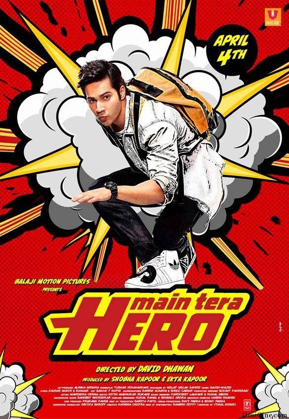 Main Tera Hero (2014) DVDscr 700mb mp4 free download