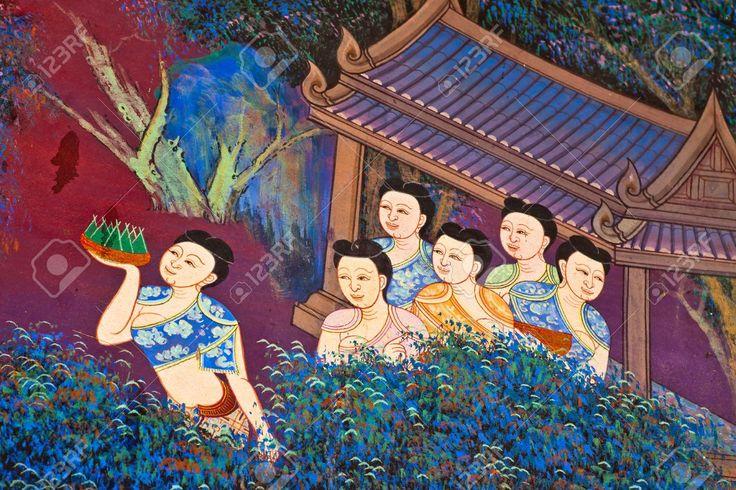Arte Pittura tailandese