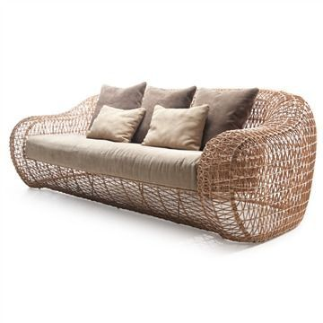 The 24 best images about RATTAN on Pinterest Contemporary sofa - Balou Rattan Mobel Kenneth Cobonpue