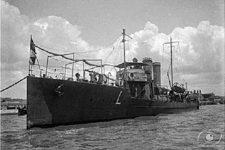 Torpedeiro NRP Liz II (1921-1934) ex-90F.Foram transferidos torpedeiros da classe Tb82F para as marinhas da Roménia, de Portugal, da Jugoslávia e da Grécia.