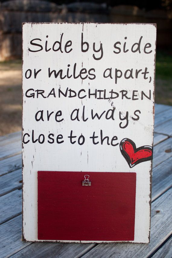grandparent picture frame picture frame for by KadynnsKorner