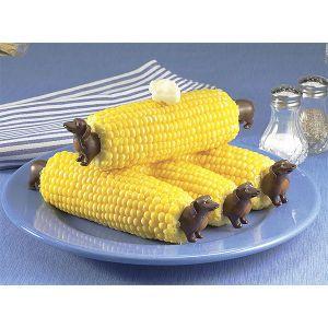 Dachshund Corn Holders - Omg! I need these