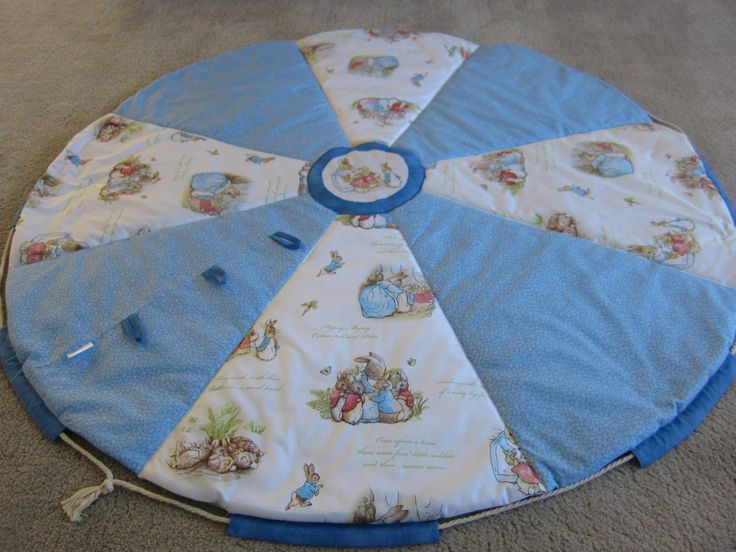 Peter Rabbit Baby play mat by MKcollectionMK on Etsy