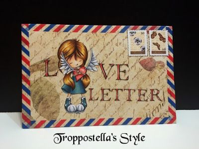Troppostella's Style: Happy Mail: Love Letter