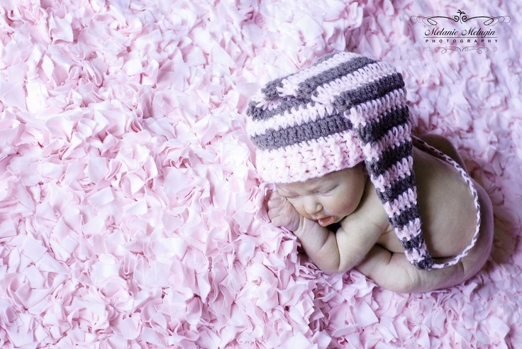 Crochet Baby Hats Free Pattern Elf images