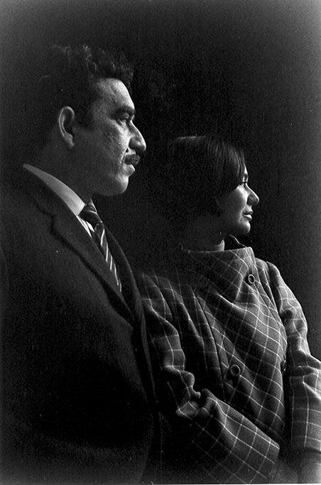 Gabriel García Márquez y Mercedes Barcha (1967) © Sara Facio