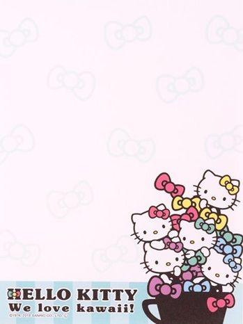 Printable Hello Kitty Sanrio