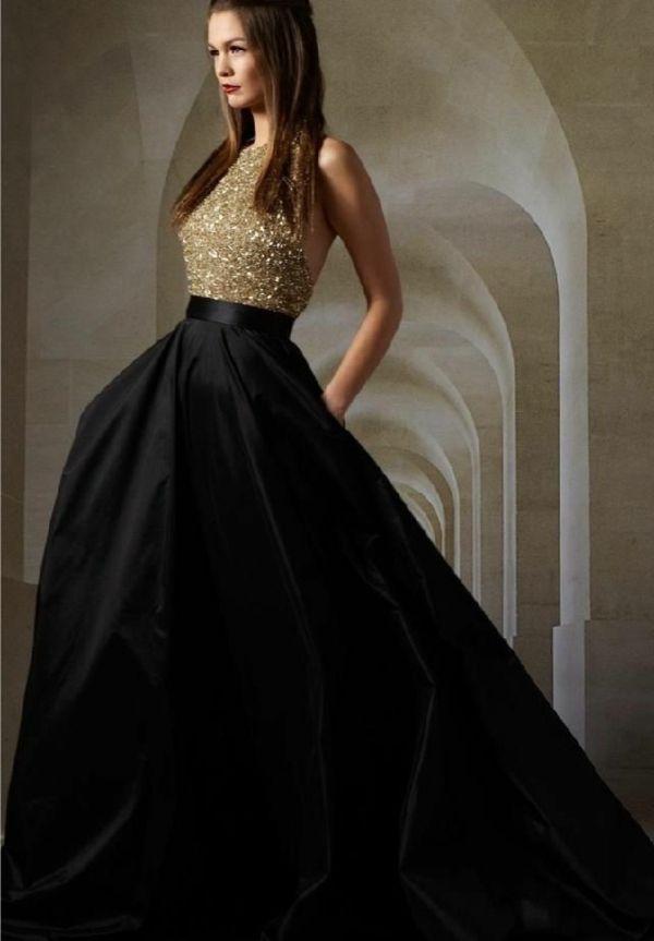 Robe moderne de princesse