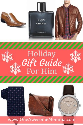 Looking for a gift for that special man in your life? Whether it's for your friend, your brother, your dad, someone you're dating, or your husband, you'll surely find something for everyone in my favorite picks. Click on the image for more information.
