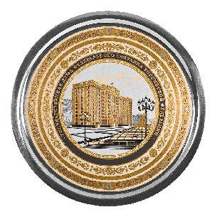 Тарелка подарочная Государственная дума - Блюда с логотипом <- Корпоративное <- VIP - Каталог | Универсальный интернет-магазин подарков и сувениров