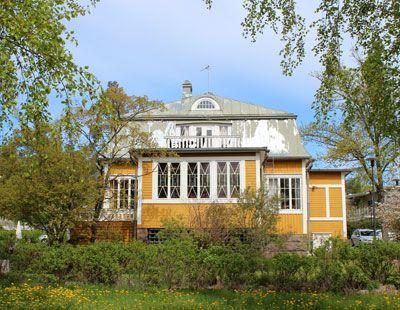 Villa Pentry, Nuottaniemi (Espoo, Finland)