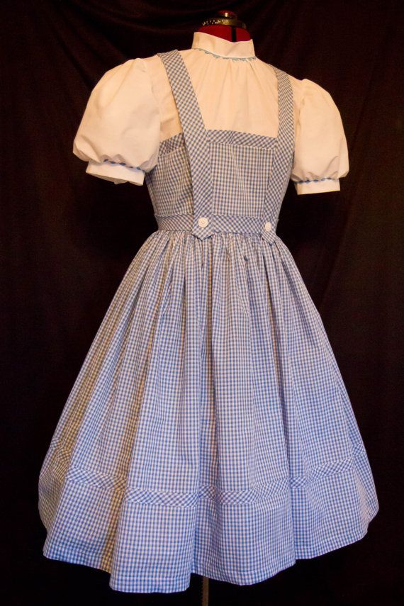 ADULT Size AUTHENTIC Reproduction DOROTHY Costume Dress by mom2rtk, $249.99