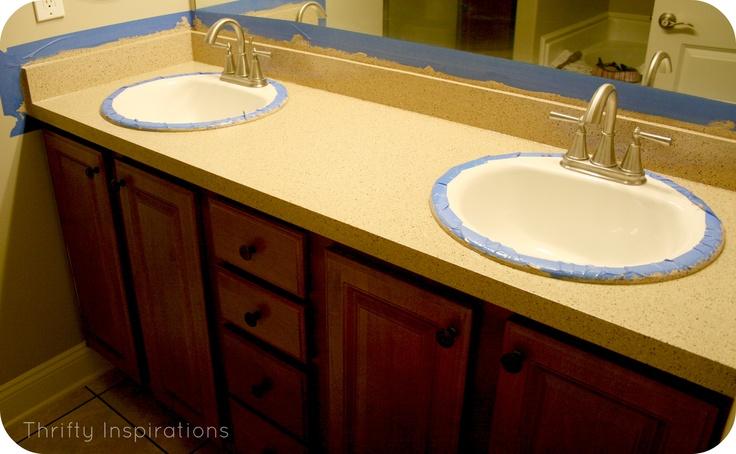 -Rustoleum Countertop Transformations...Rustoleum Cabinets, Bathroom ...