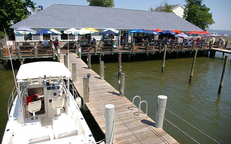 Skipper S Pier Restaurant Dock Bar Deale Md