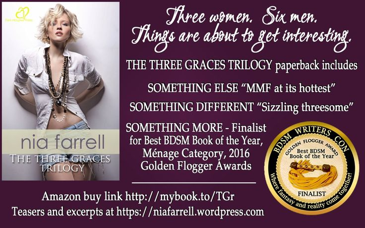 Contains SOMETHING MORE - Finalist for Best BDSM Book of the Year. Paperback mybook.to/TGr