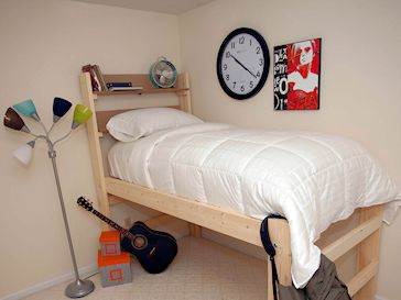 I Want This Bed For My Small Room Low Loft Bed High Rise