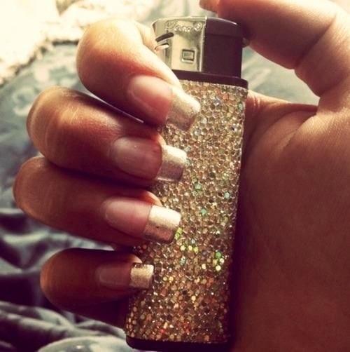 really love this bling lighter!