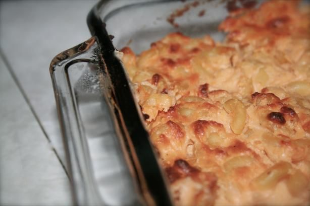 Lightened Fannie Farmer's Classic Baked Macaroni and Cheese | Recipe