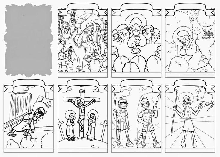 A colorier, à compléter et à retenir. Source : http://dibujosparacatequesis.blogspot.fr/