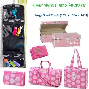 Pink Overnight Camp Travel Package