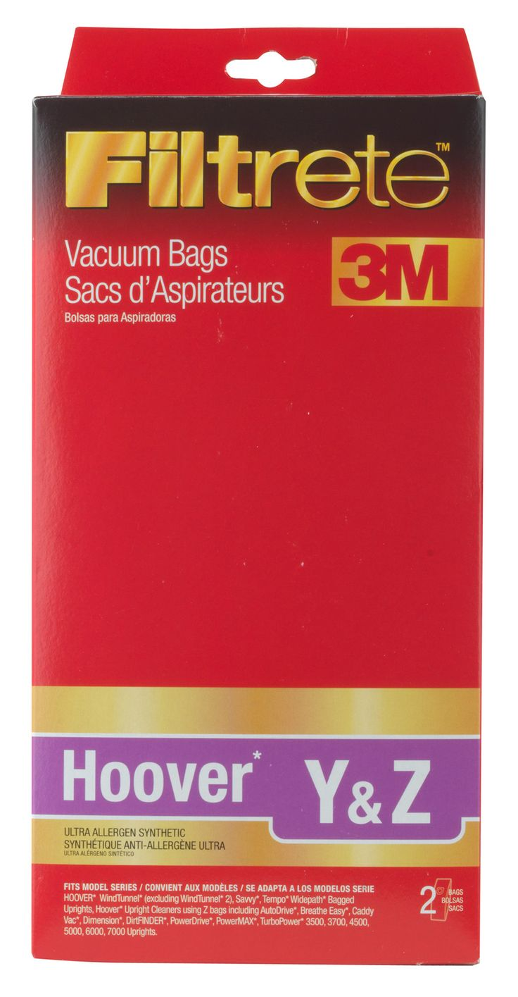17 best ideas about vacuum bags vacuum pack bags hoover y and z filtrete vacuum bag pack of 2