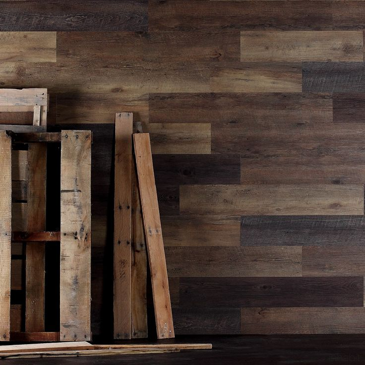 Planks™, from Inhabit®, are wide #plank peel & stick #wood wall planks that add the warmth and texture of wood to any room