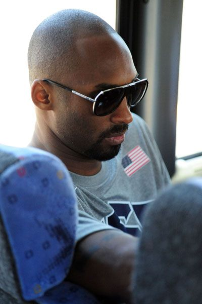 USA Basketball: 2012 U.S. Olympic Men's Basketball Team (7/8/12)...Black Mamba...still all business!