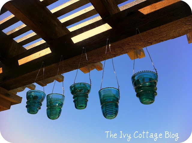 74 best images about glass insulators on pinterest for Glass electric insulator crafts
